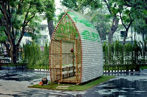 eco green house design bamboo plastic bottles make eco friendly greenhouse e4g org