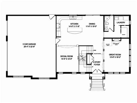 open floor house plans two story single level floor plans luxury 2 story open floor plan