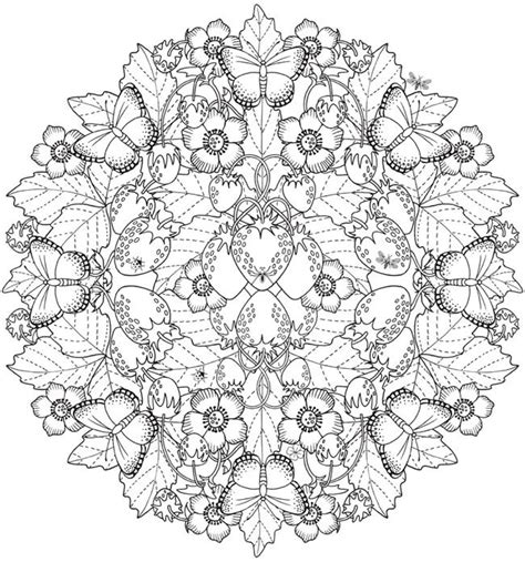 mandala coloring pages nature 17 best images about mandalas on coloring