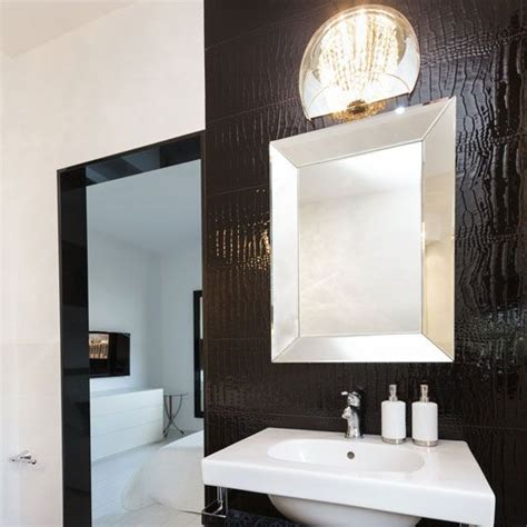 silver mirrors for bathroom 15 best black frames for mirrors images on pinterest