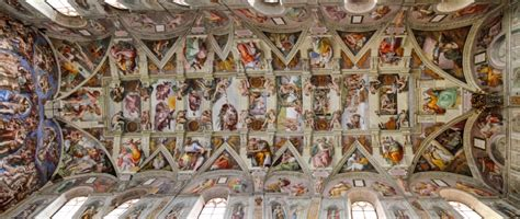 decke der sixtinischen kapelle kostenloses foto kapellenraum sixtinische kapelle