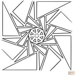 geometric mandala coloring pages geometric mandala coloring page free printable coloring