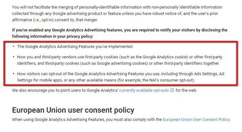 privacy policy cookies template privacy policy for analytics termsfeed