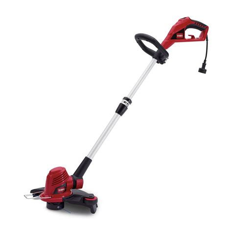 toro 14 inch corded string trimmer and edger the home