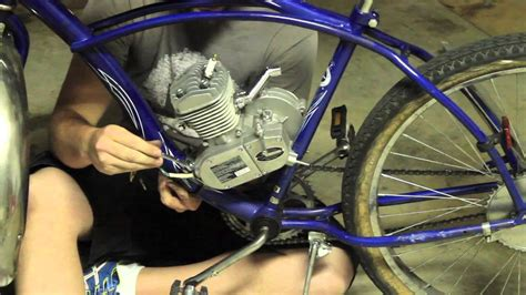 where to put motor how to put an engine kit on a cruiser part 2 motor