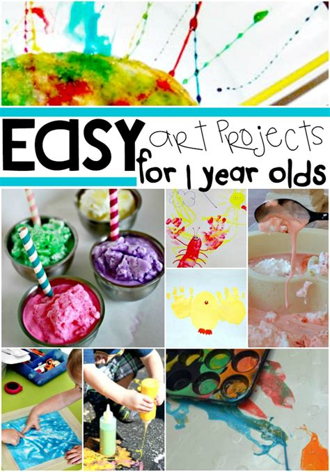 painting activities for 9 year olds 16 easy projects for your 1 year