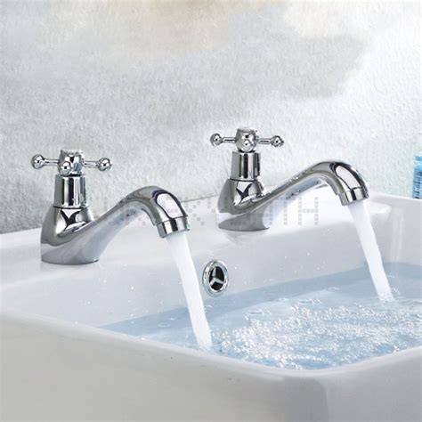 taps for sinks and bathrooms victorian bathroom sink basin pillar taps faucet pairs
