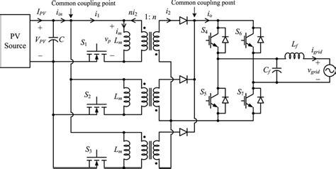micro inverter wiring diagram free schematic