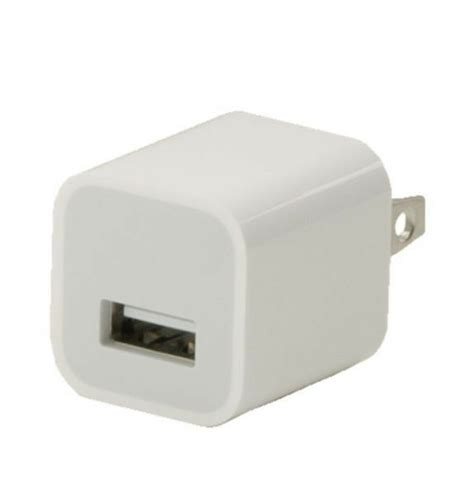 new genuine original apple ipod iphone charger usb power adapter 5w md810ll a ebay