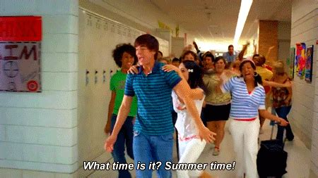 School musical summer time nice weather warm summer what time