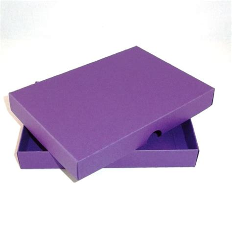Handmade Card Box - a4 purple greeting card boxes for handmade cards