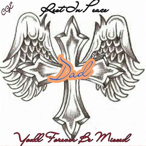 rest in peace dad tattoo designs 125 best images about s on missing