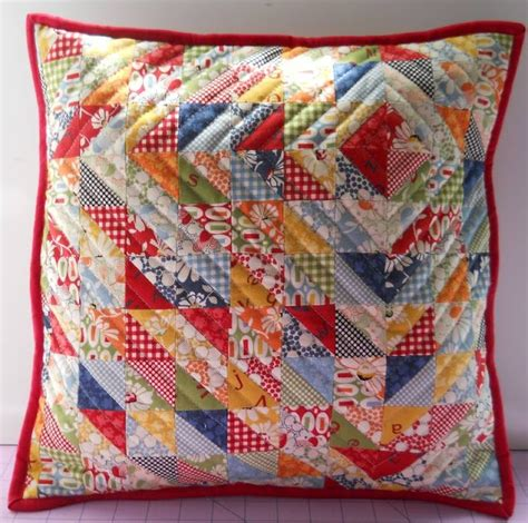 Patchwork Pillow Patterns - 25 best ideas about quilted pillow on quilt