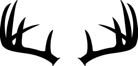 deer antler clip stag antler clipart