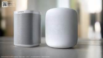 apple homepod apple homepod vs sonos play 1 and mac pro renders