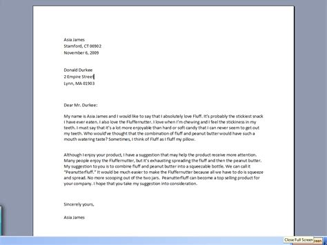 Formal Letter Or Business Letter Writing how to write business letter the best letter sle