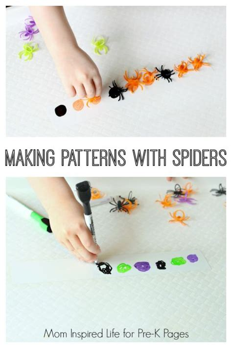 pattern making activities for preschool 17 best images about spiders on pinterest early
