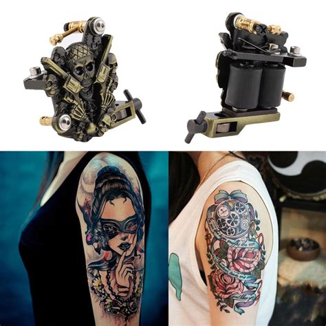 revolver tattoo jakarta popular skull tattoo guns buy cheap skull tattoo guns lots