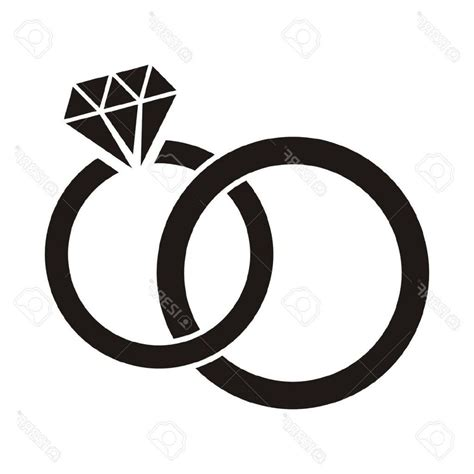 Wedding Ring Clipart Black And White by Ring Clipart Black And White Ring