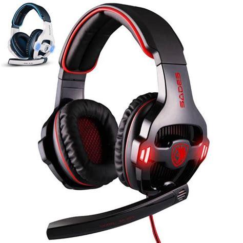 Sades Sa 903 Headset Gaming Putih Sades Sa 903 Led Headset Mic Sades Gt Headset Brand
