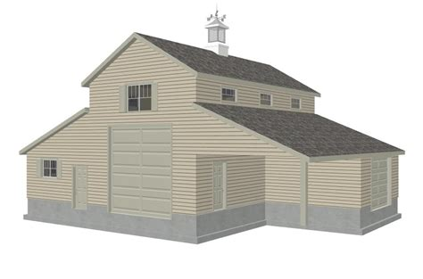 barn garage plans g339 52 215 38 16 barn rv garage plans