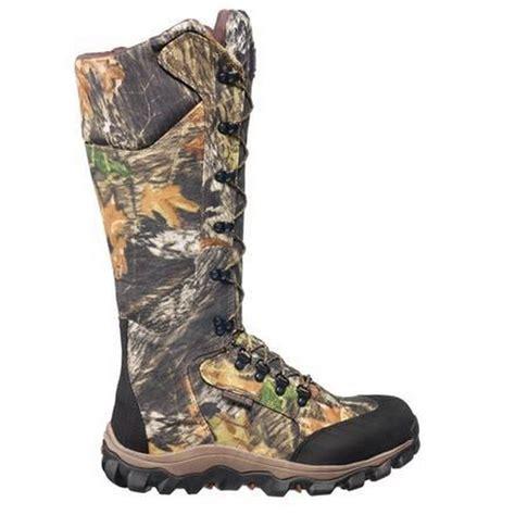 mossy oak boots rocky lynx mens mossy oak up side zip waterproof