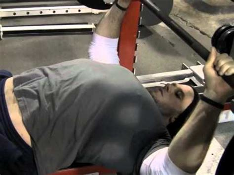 dave tate teaching the bench press youtube
