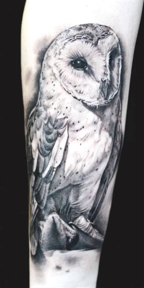 white owl tattoo 25 best ideas about realistic owl on