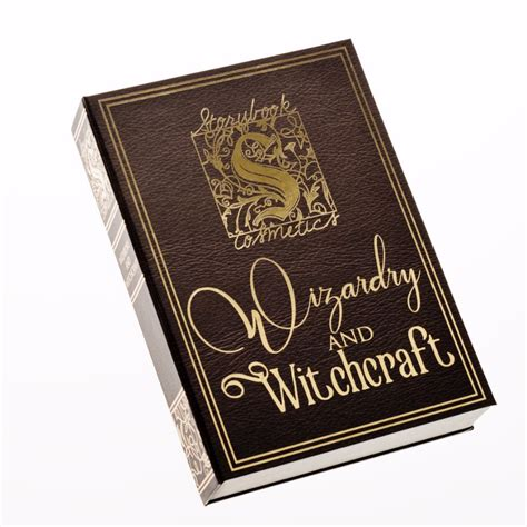 story book with pictures storybook cosmetics wizardry and witchcraft eyeshadow