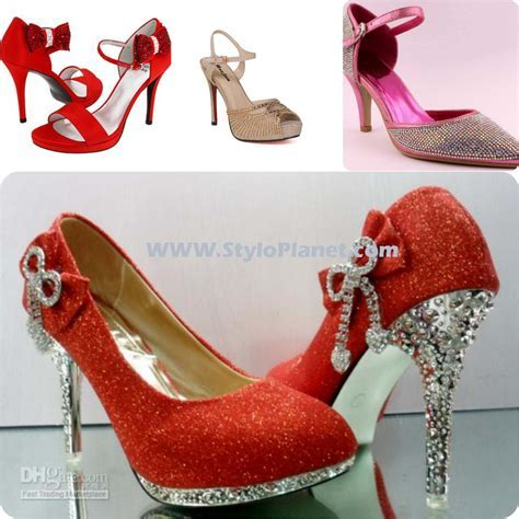 Bridal Latest Red Wedding Shoes Collection 17   Stylo Planet