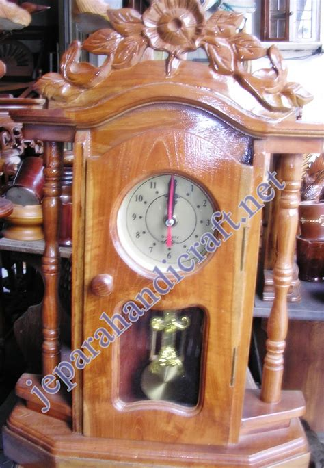 Jam Meja Kayu jual jam antik jepara