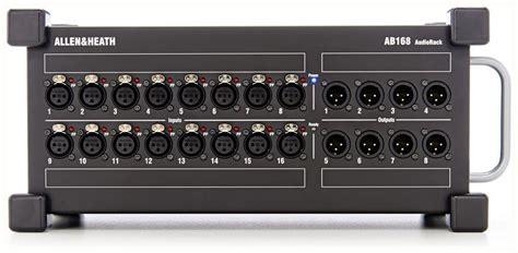 Portable Audio Rack Allen Amp Heath Ab168 Portable Audio Rack Concert Sound