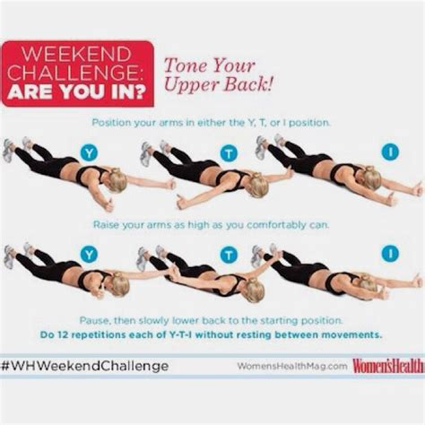 exercises to tone back get healthy