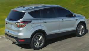 2017 ford escape colors release date price specs