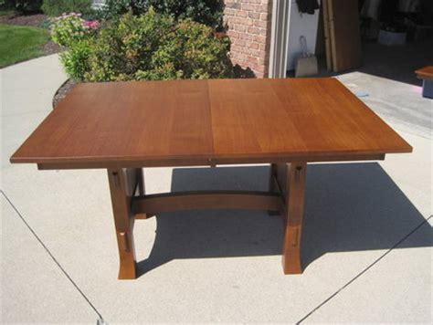 Mission Style Dining Table Plans Mission Style Dining Room Table Plans Furnitureplans