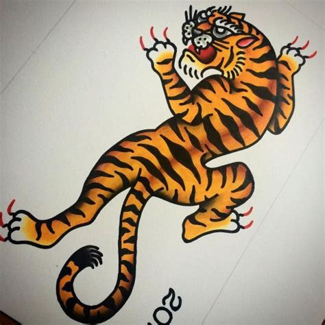 traditional tiger tattoo designs 20 best traditional tiger drawing images on
