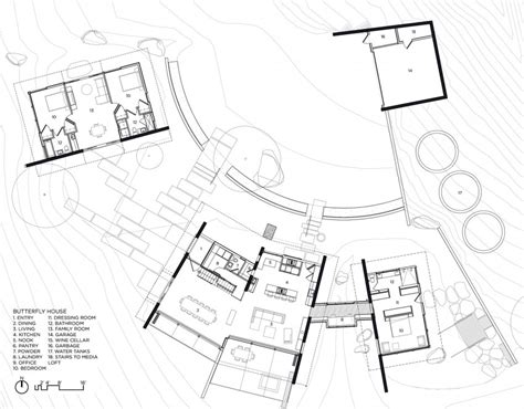 butterfly houses plans butterfly house by feldman architecture homedsgn