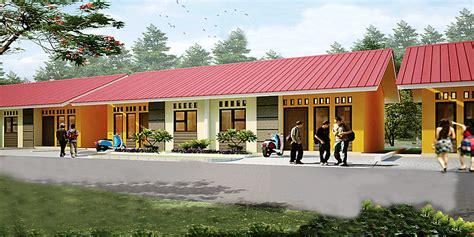 Desain Rumah Subsidi | sinar bahagia group bangun 1 500 rumah subsidi di