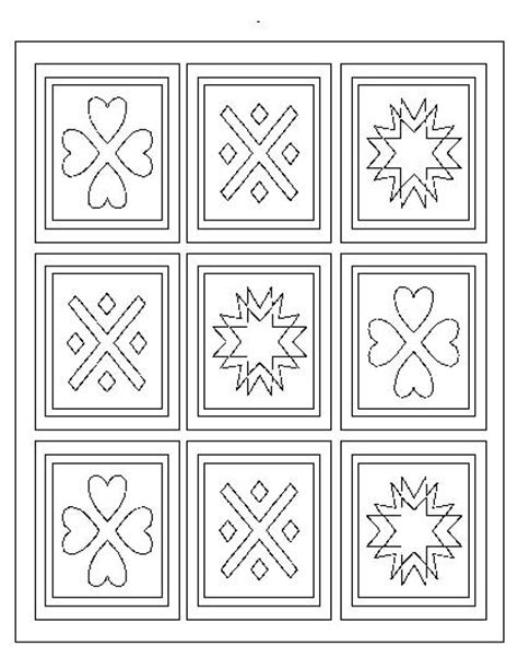 quilt coloring pages printable free coloring pages of a quilt