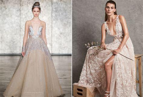 Gaun Wedding Pernikahan inspirasi gaun pernikahan dari bridal fashion week fall