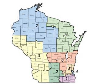 senate districts map wisconsin senate district 5