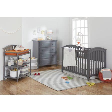 sorelle berkley crib gray sorelle berkley classic 4 in 1 crib grey walmart