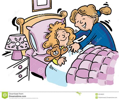 how to get her in bed bedtime story clip art cliparts