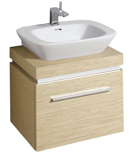 Basin Shelf Unit twyford vello 600mm countertop basin with shelf and vanity unit