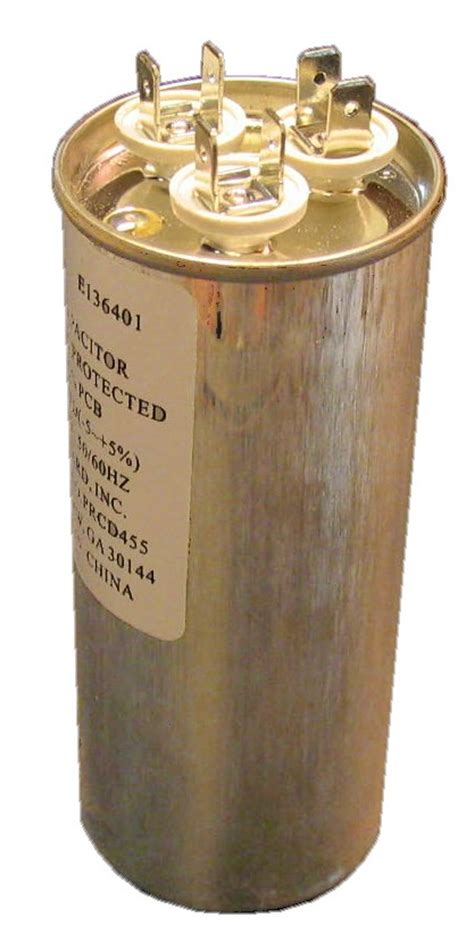 payne blower motor capacitor 25 10 uf mfd 440 volt dual capacitor