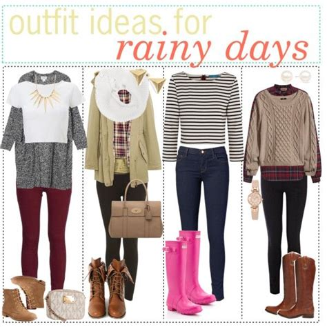 school hairstyles for rainy days rainy day polyvore clothing
