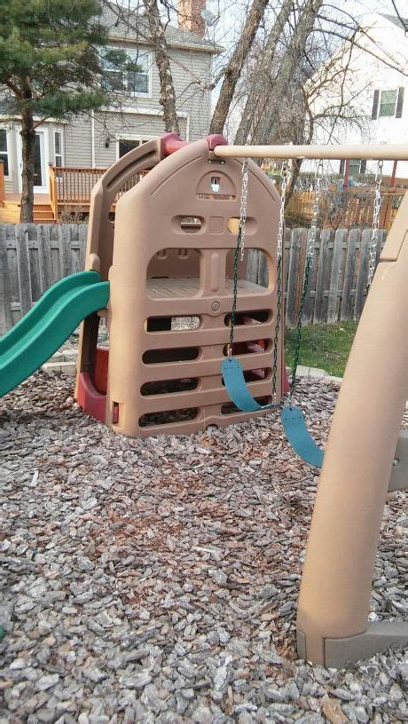 used step 2 swing set little tikes step 2 play house swing set sports