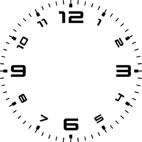 printable rectangular clock face clock face 11 by stephenjohnsmith on deviantart