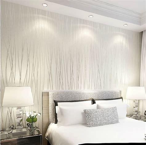 tappezzeria da letto una carta da parati con fondo bianco idee per la casa