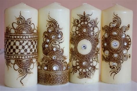 candele design 25 best ideas about henna candles on